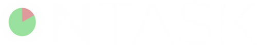 on task linear logo